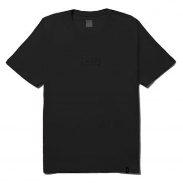 Dyed Bar Logo T-Shirt - Black