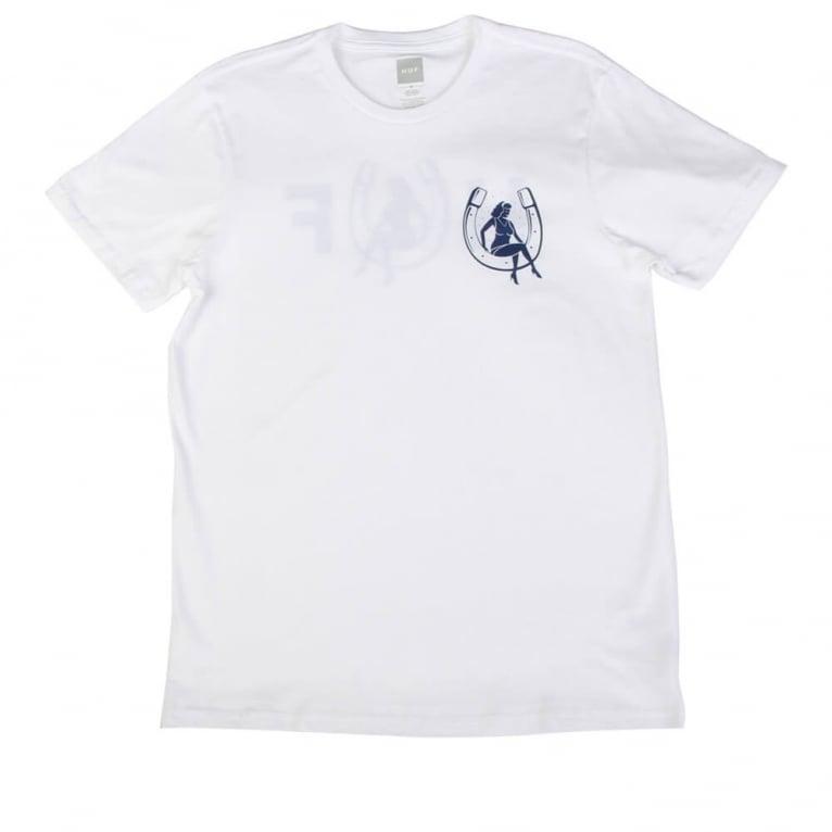 HUF Horseshoe T-shirt - White