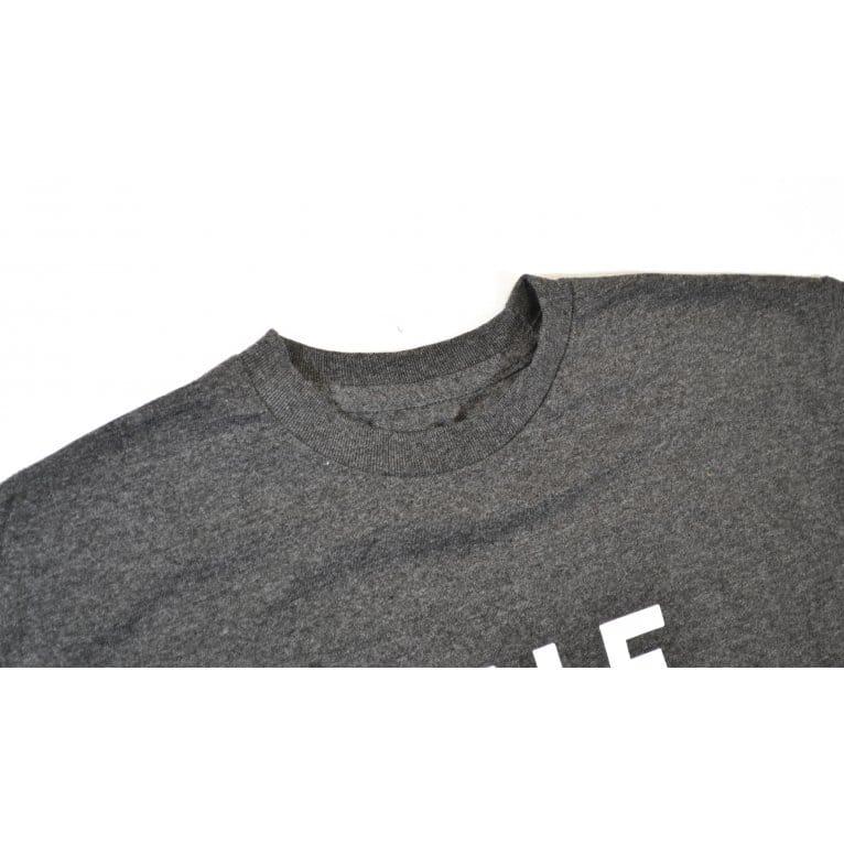 HUF Original Logo T-shirt - Charcoal Heather