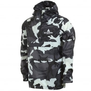 Peak Anorak Jacket - White Camo