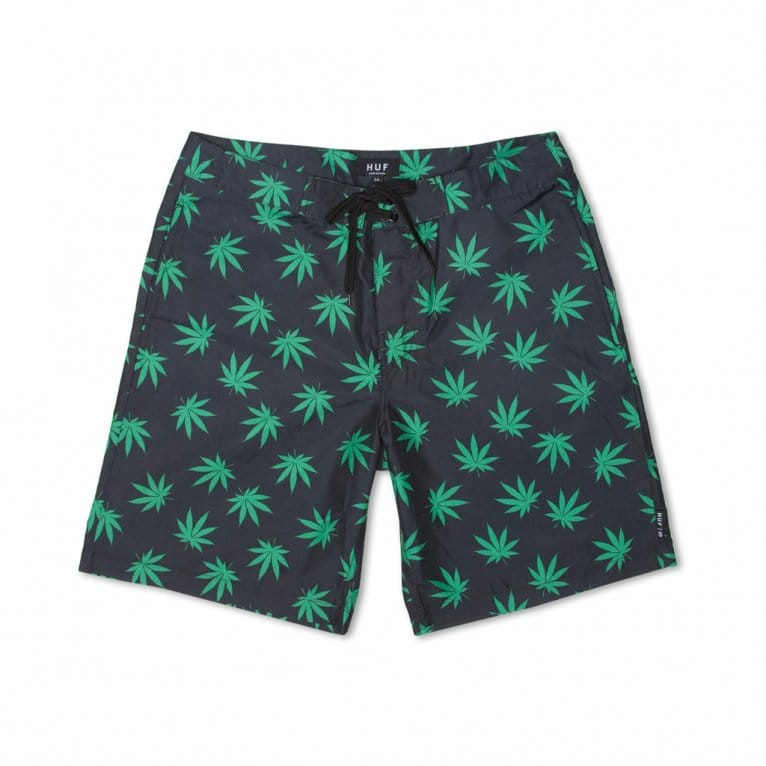 HUF Plantlife Short Black/Green