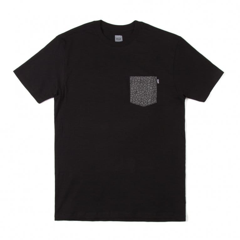 HUF Quake Pocket T-shirt - Black