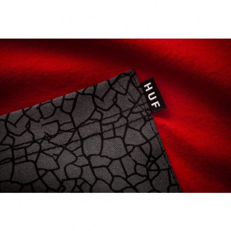 HUF Quake Pocket T-shirt - Red