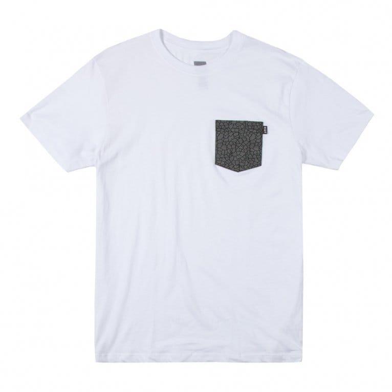 HUF Quake Pocket T-shirt - White