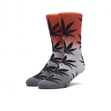 Tri Fade Plantlife Sock - Infared/Grey/Black