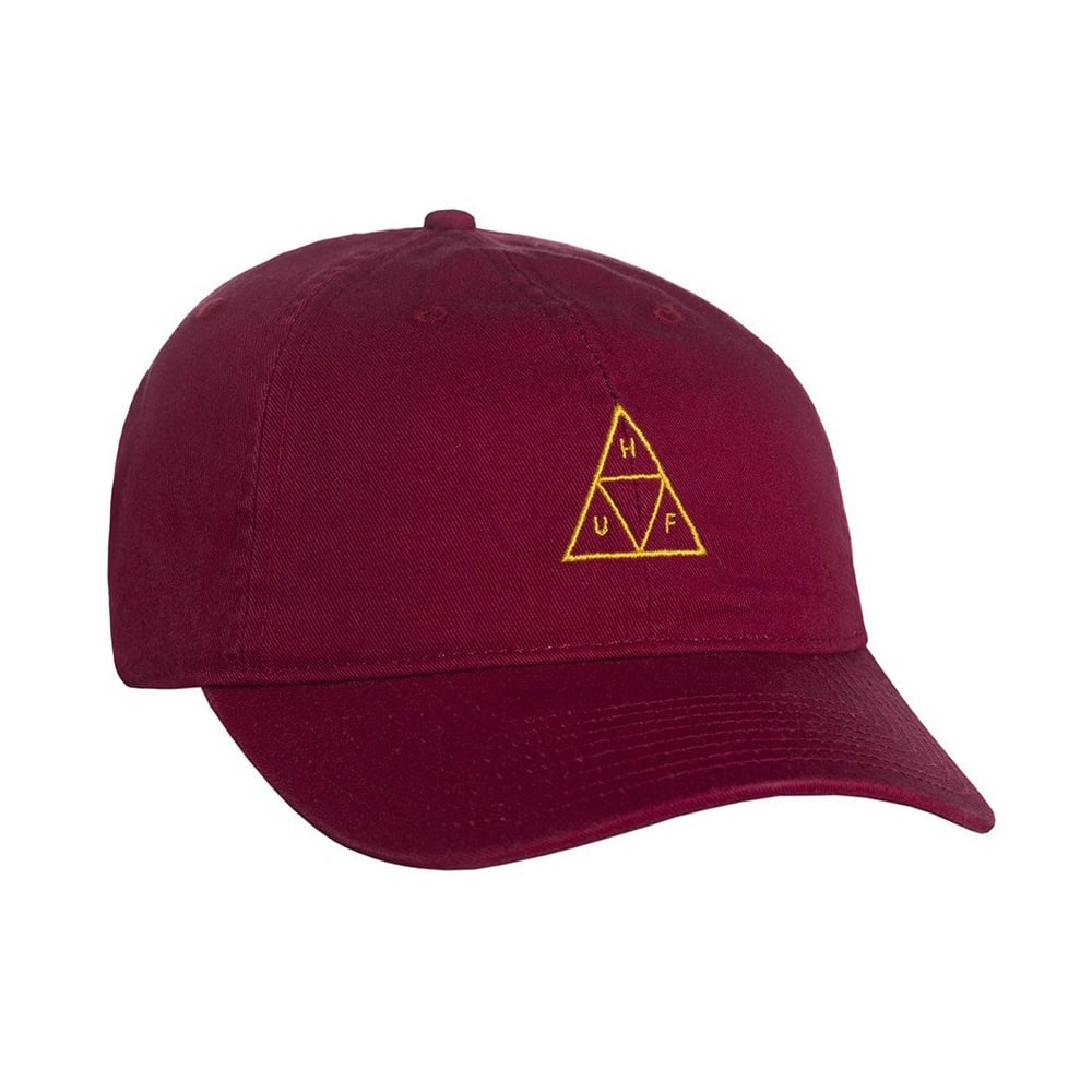 b72d884107a HUF Triple Triangle Curved Dad Hat