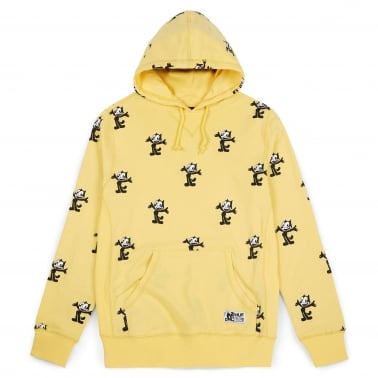 All Over Print Hoodie - Banana