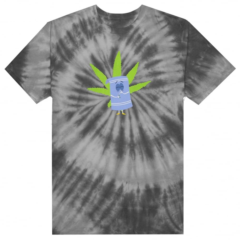54cae0321a9a HUF x South Park Towelie Tie Dye T-Shirt