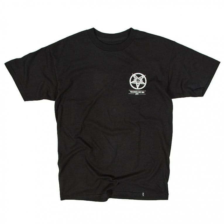 HUF X Thrasher Down From Here T-shirt - Black