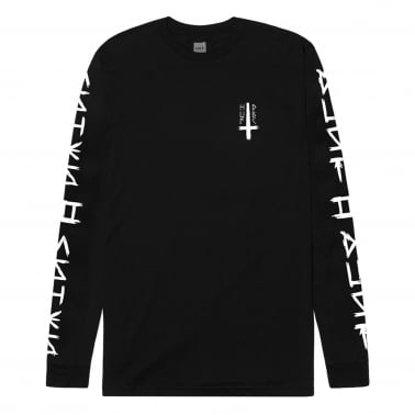 Ashes To Ashes Long Sleeve T-Shirt - Black