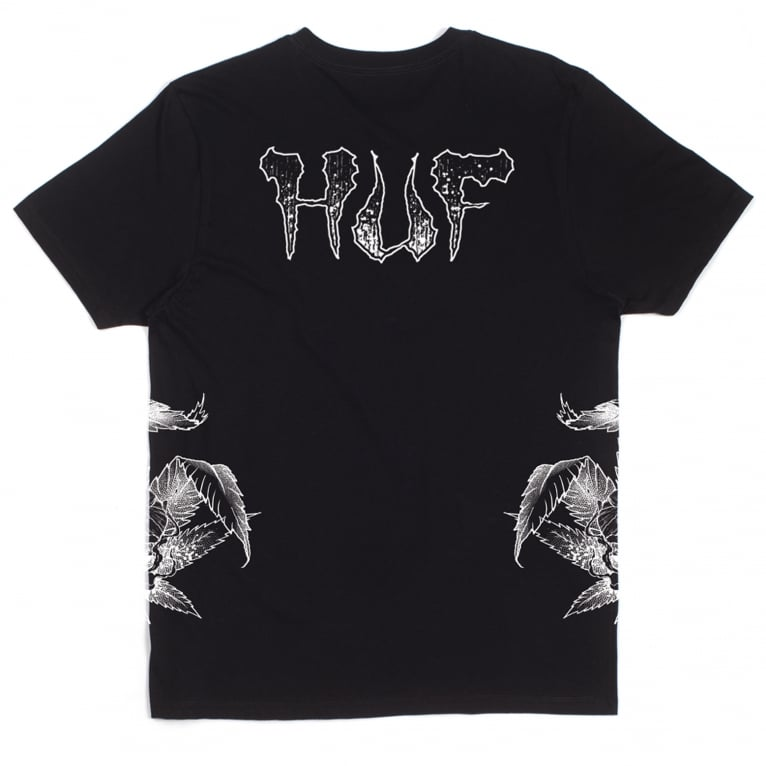 HUF x Ty Dolla $ign Sewer Tee - Black