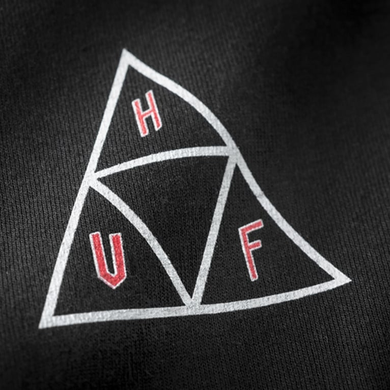 HUF x Ty Dolla $ign Swords Triangle Tee - Black