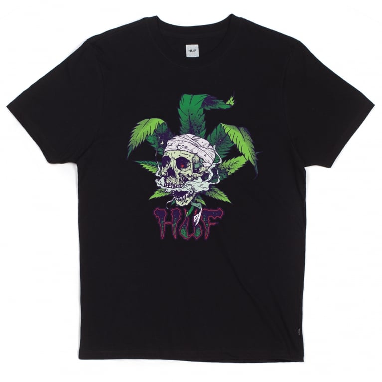 HUF x Ty Dolla $ign Toker Tee - Black