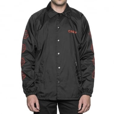 Vulture Coach Jacket - Black