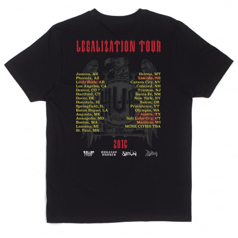 HUF x Ty Dolla $ign Vulture Tee - Black