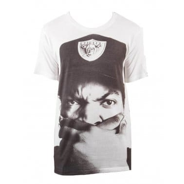 Hip Hop Icons Ice Cube Tee - White