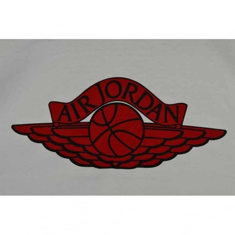 Jordan Wings Logo Tee White