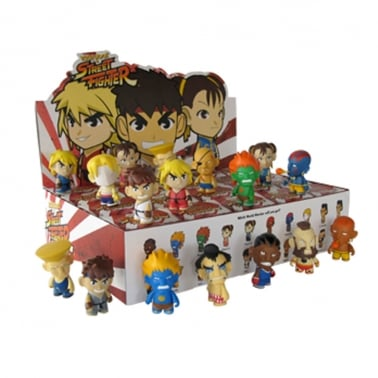 Kidrobot Street Fighter Collectible Mini Figure Series 1