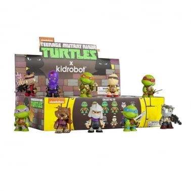 Kidrobot x Teenage Mutant Ninja Turtles Mini Series Blind Box