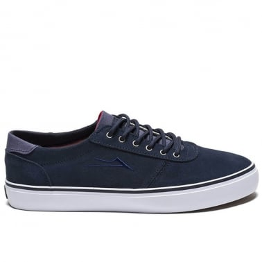 Manchester Lean - Navy Suede