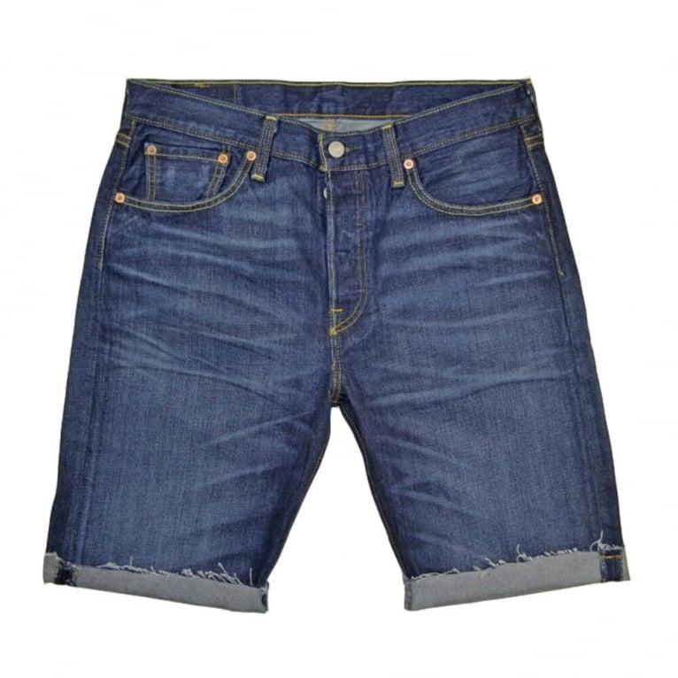 Levi's Jeans 501 Short Jeans - Indigo