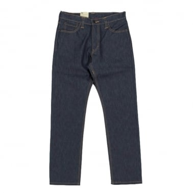 504 Straight Rigid Jeans - Indigo