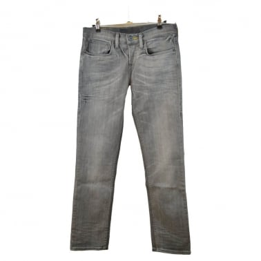 222 Slim Skateboarding Jeans - Smoked Charcoal