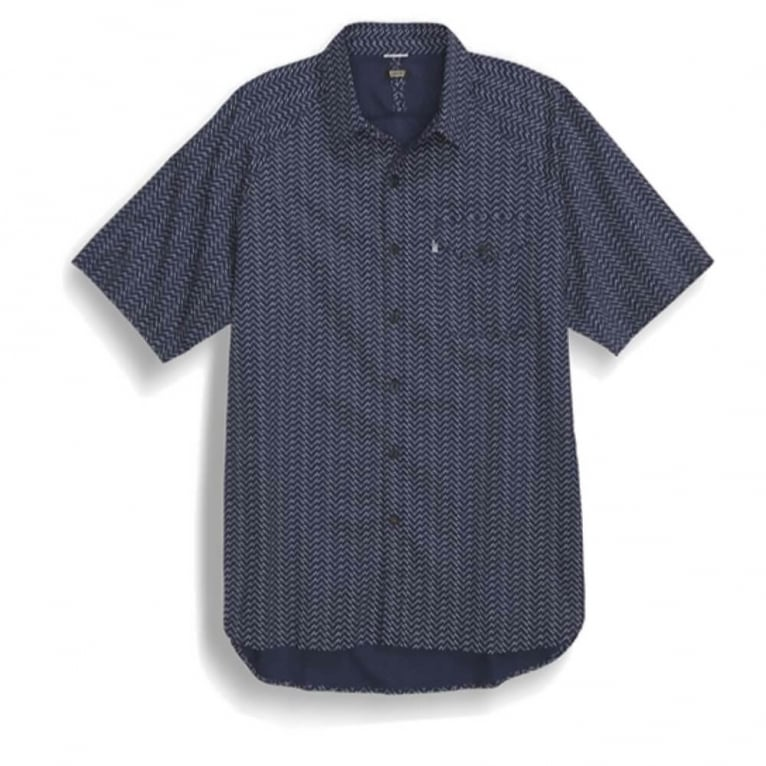 Levi's Jeans Manual Short Sleeve Shirt - Navy