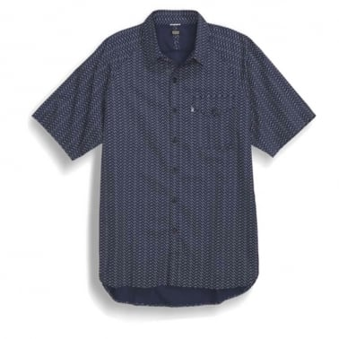 Manual Short Sleeve Shirt - Navy