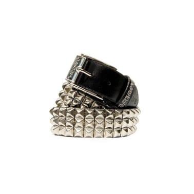 Lowlife Sss Leather Belt Black