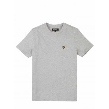 Crew Neck Tee Light Grey Marl
