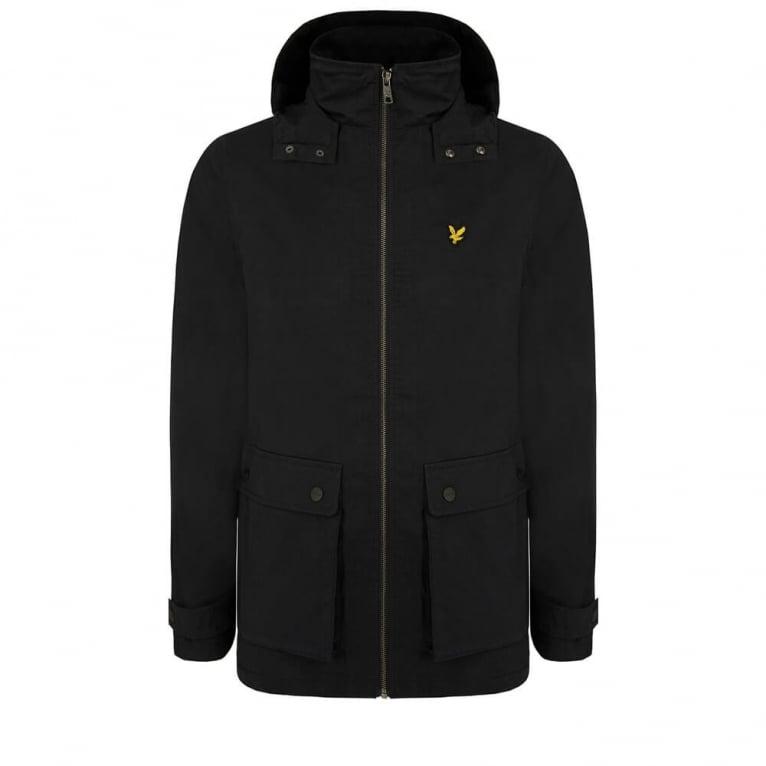 Lyle & Scott Microfleece Jacket True Black