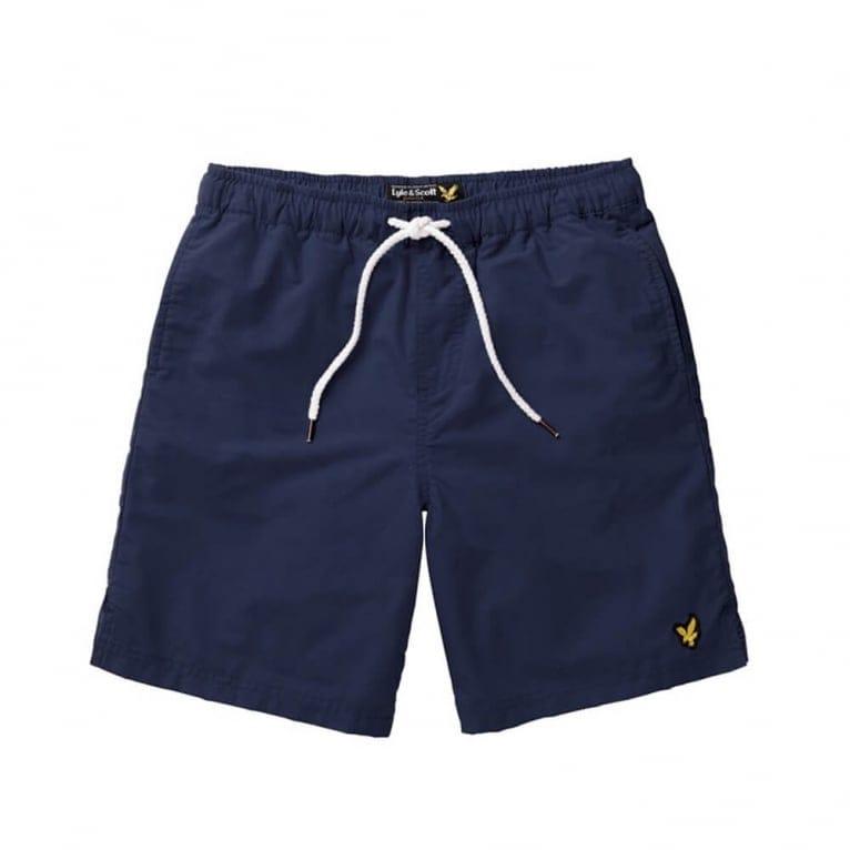 Lyle & Scott Plain Swim Short - Navy