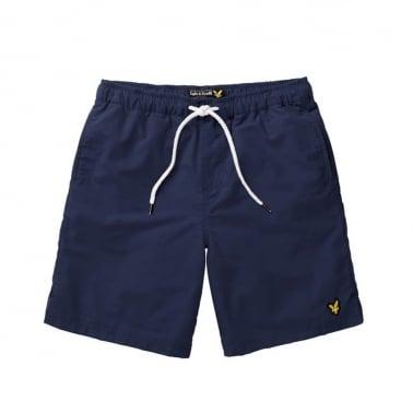 Plain Swim Short - Navy