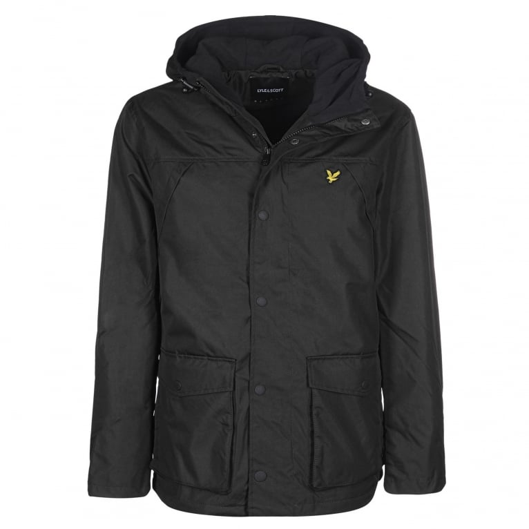 Lyle & Scott Micro Jacket - True Black