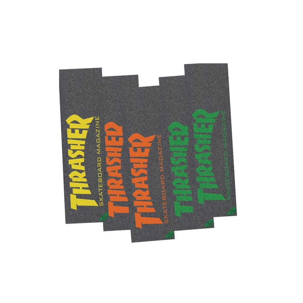 Mob Grip Thrasher Skate Mag Griptape O//S Red one size Mob Grip Skateboa