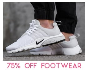 Footwear Sale - 50% Off