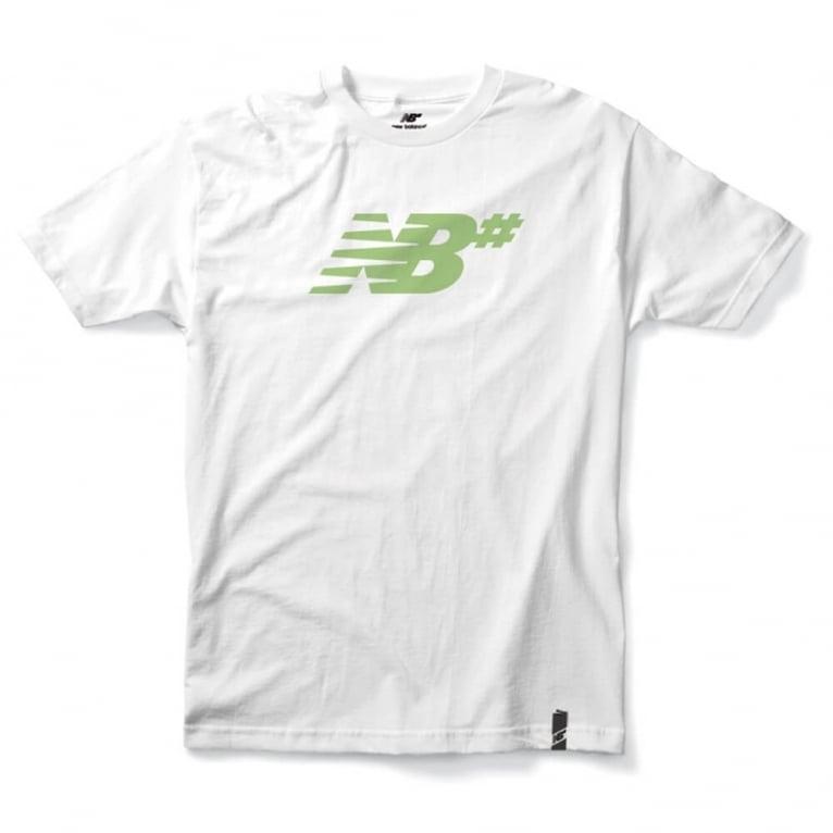 New Balance Numeric Icon Tee - White/Fairgreen