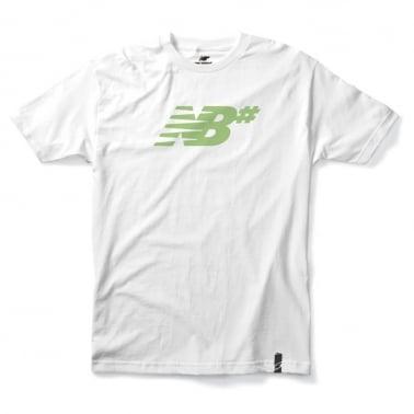 Numeric Icon Tee - White/Fairgreen