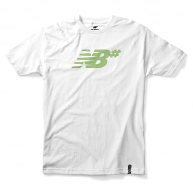 Numeric Icon Tee - White/Fairgreen