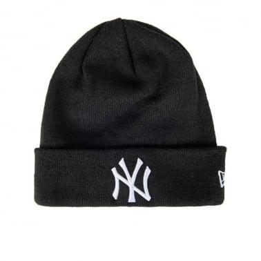 Cuff NY Beanie - Black/White