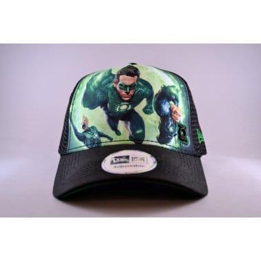 Green Lantern Trucker Cap - Green/Black