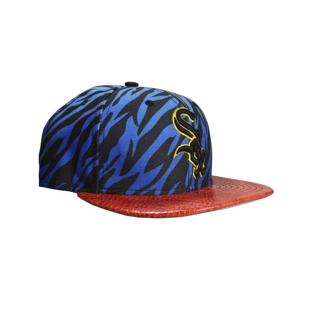 11695f74 New Era Jungle Mash CW Cap in Blue/Red | Natterjacks