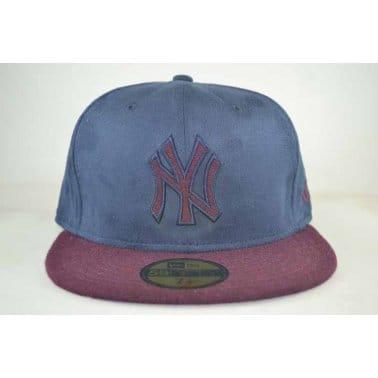 Mel Suede New York Yankees Cap - Navy