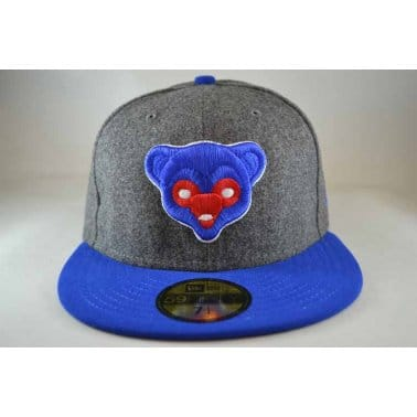 Melton Chicago Cubs Cap - Grey/Royal