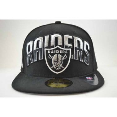 NFL ONF Oakland Raiders Cap - Black/Silver