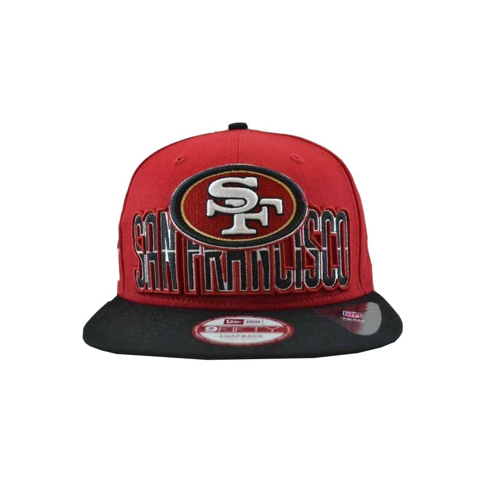 New Era NFL Team San Francisco 49ers Cap in Red Black  b321e1baf6ea