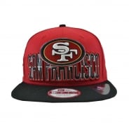 the best attitude 6b087 6c8d2 NFL Team San Francisco 49ers Cap - Red Black. New Era ...