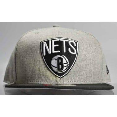 Pop Brooklyn Nets Cap - Heather Grey