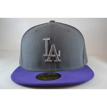 Pop Tonal Los Angeles Dodgers Cap - Graphite/Purple